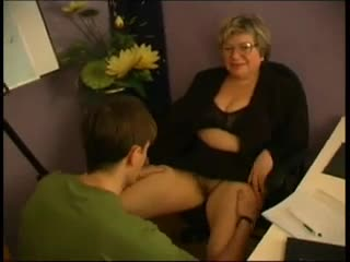 Bbw granny teacher