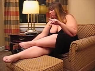 BBWヒッピーチック電話セックス