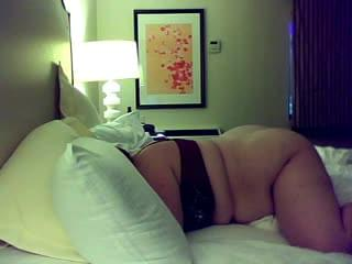Bbw wife bends over for hubby