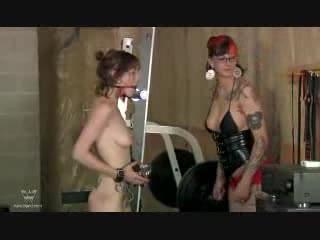 STEPHANIE: Lesbian BDSM Workout