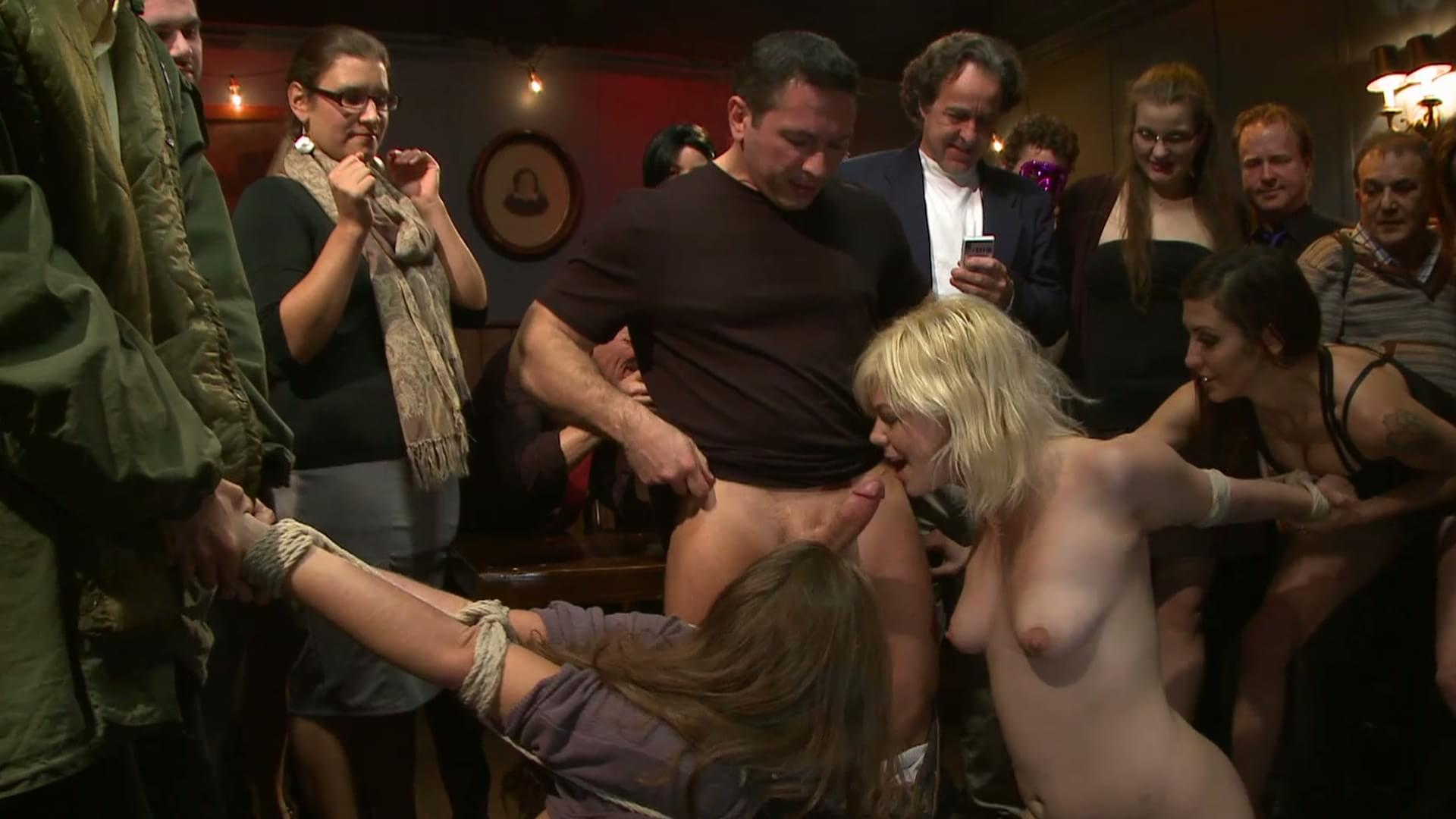 blowjob party bdsm party