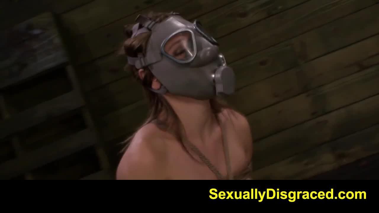 Bondage gape It