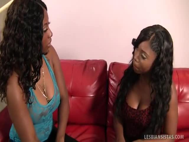 Good ebony lesbian porn