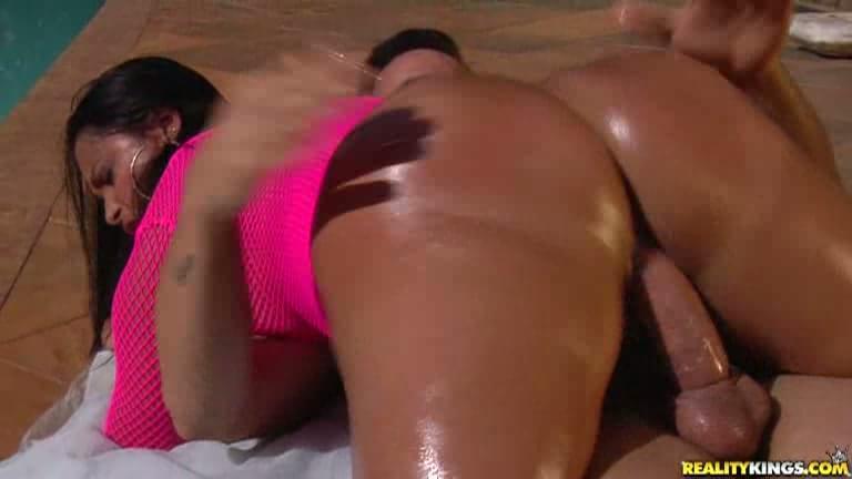 Ebony Big Ass Twerking Dick