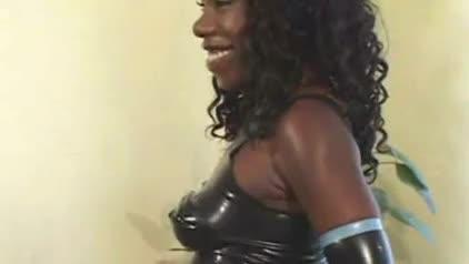 Big ass latex diva interracial anal 4