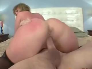 Girl watches couple fuck