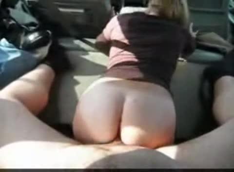 Sex in backseat of car