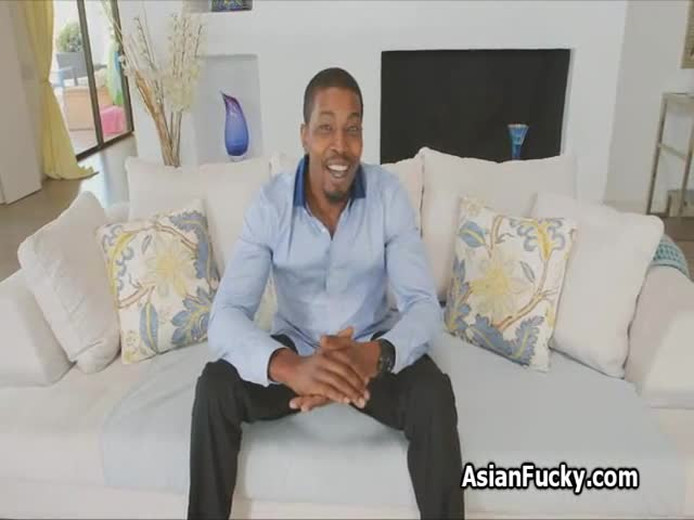 Big Black Cock In Japanese Ass