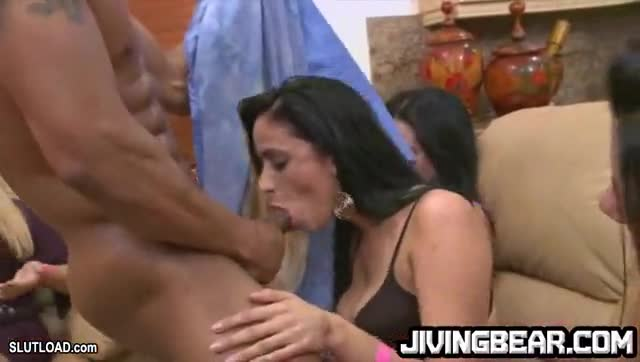 Black Dick Being Sucked