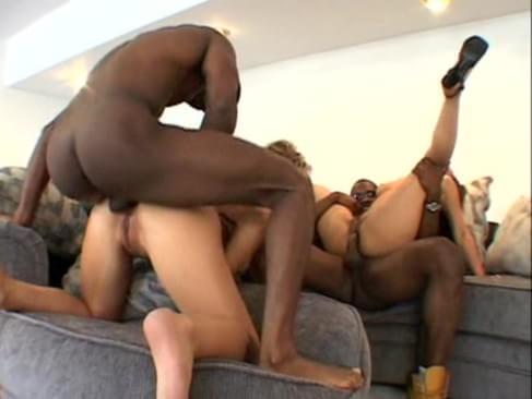 Big black bone group sex black