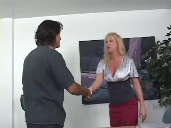 Applicant secretary job fisted and anal fucked for the job