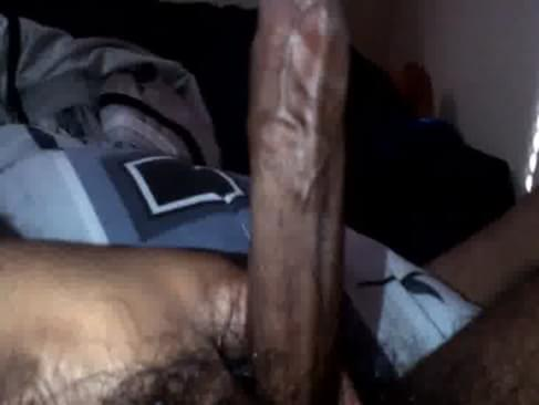 off Black cocks cum jerking
