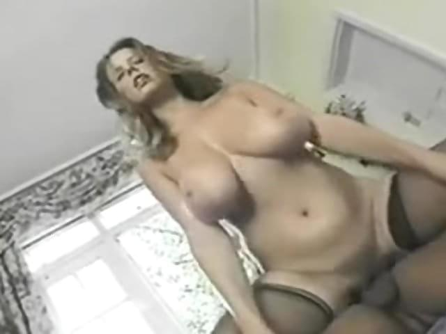 Big Bouncing Natural Tits