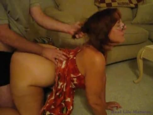 Big ass mature anal tube