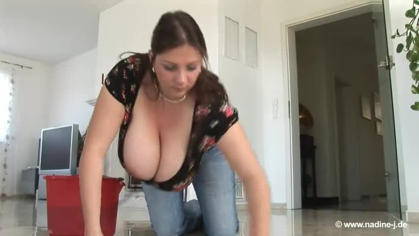 Big natural boobs down blouse leads to sex