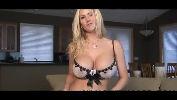 Big boob sybian
