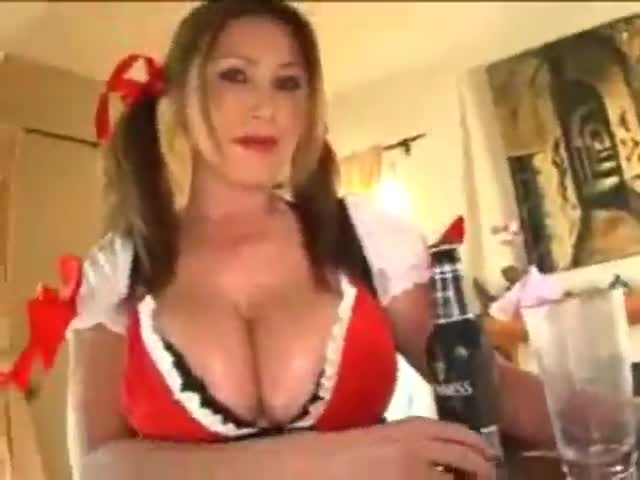Behind busty from gets hammered hard hot wench
