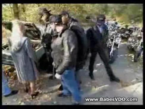 Think, that Biker gang bang wife exist?
