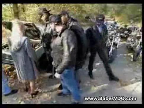 Biker Gangbang 34