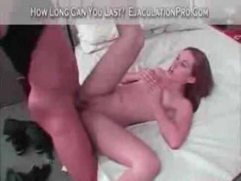 girl sucks own tits