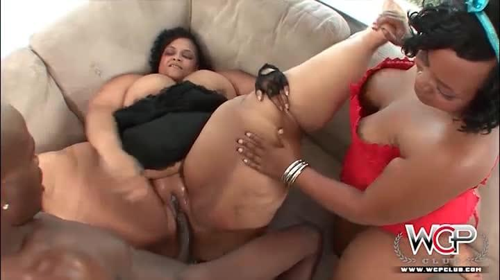 Black bbw threesome tube