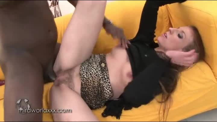 White Pussy Filled Black Cum