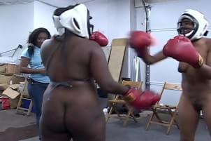 sexy black girls fighting