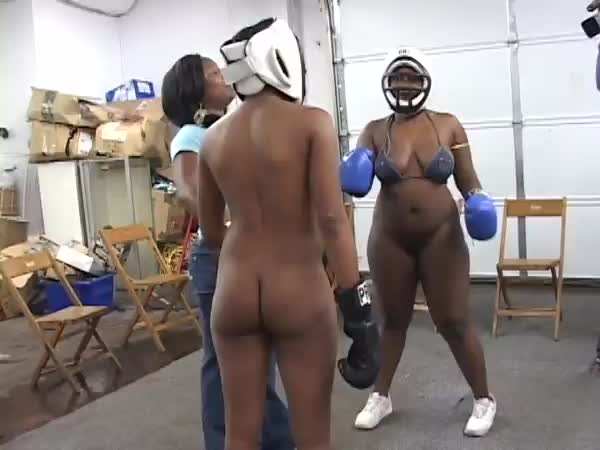 Girls fight until naked