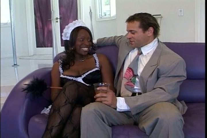 Sex with my black maid