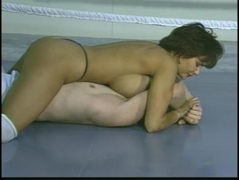 mixed wrestling porno mann in latex