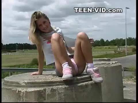 Teen Without Panties 9