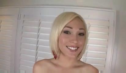 Amber star blonde milf