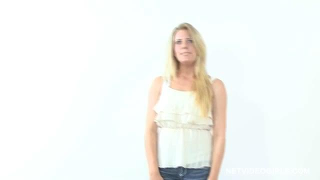 Netvideogirls jamie calendar audition Part 5