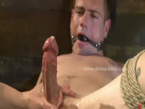 blonde divine bitch and male sex slave ... is being treated like a sex slave buy a very hot and severe blond woman.