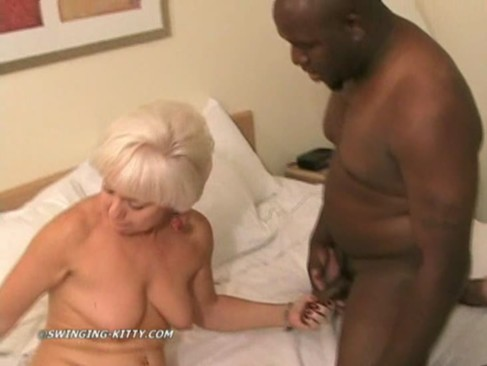 Interracial mature anal