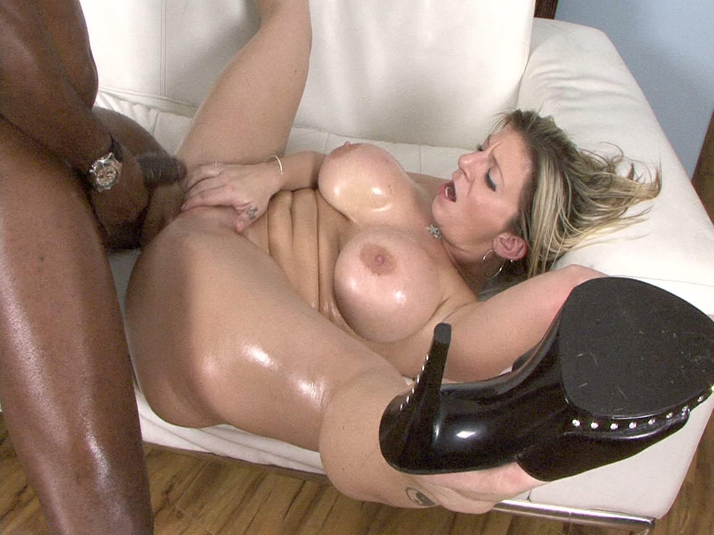 Fucked ass blonde hard milf