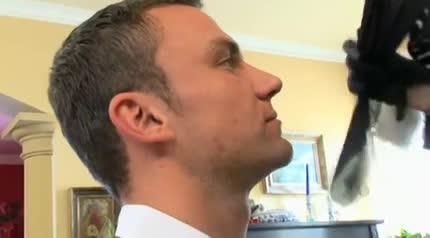 Busty british milf cums on cam