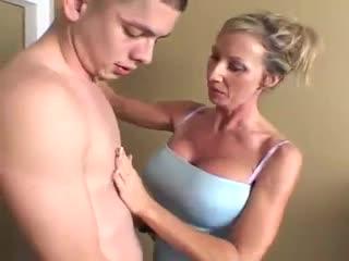 Milf Blondy sluty big boobs