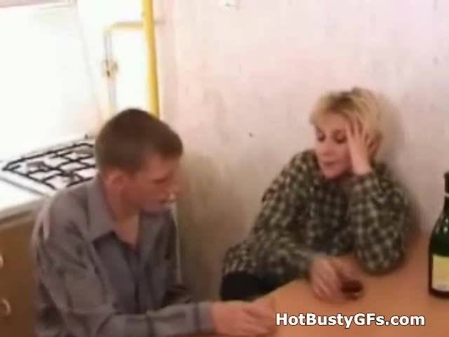 drunk mom blow job