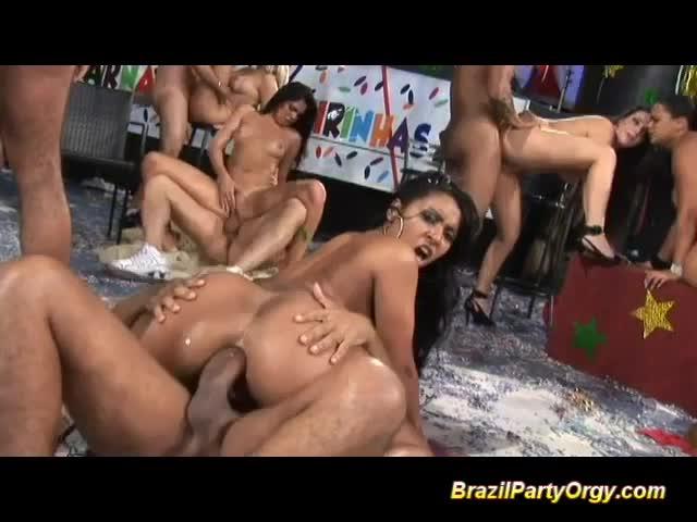 brazil anal orgy