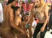 Brazillian orgy clips Rider