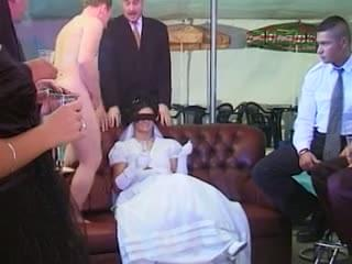 Intolerable. bride wedding gangbang