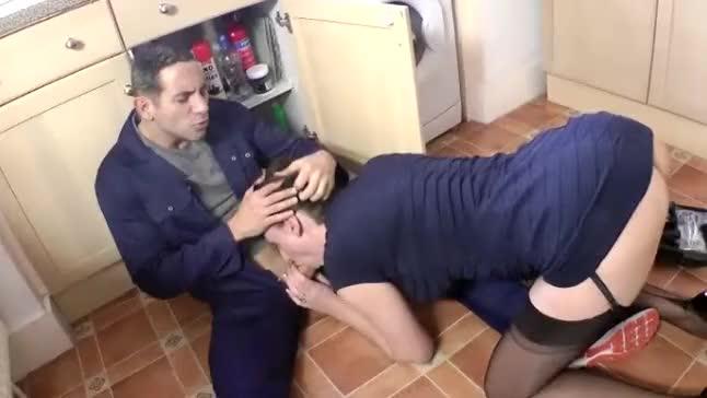 milf plumbers video