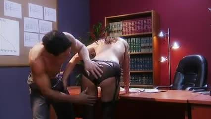British milf sky gets fucked in stockings