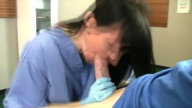 nurse gives head