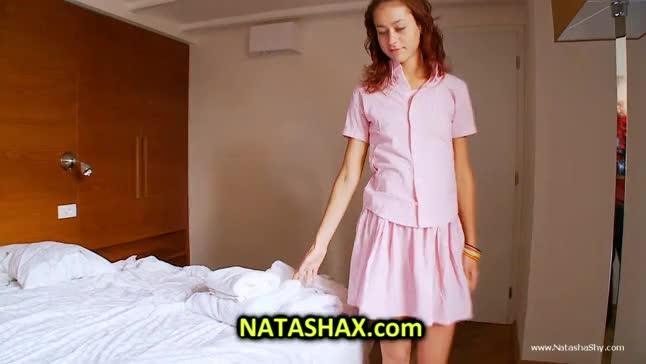 Shy masturbating natasha