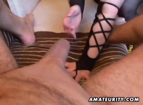 wife handjob tube