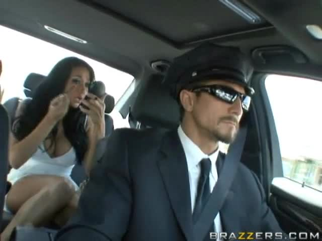Wife fucks chauffeur