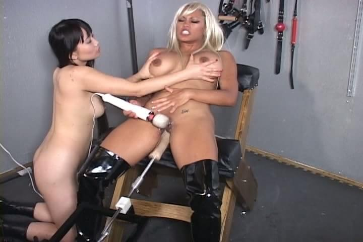 Machine slave sex bondage