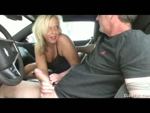 Car handjobs